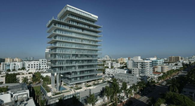 Glass Miami Beach Florida Condo Buyer Rebate